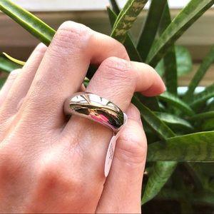 Jewelry - Medium Sliver Dome Ring